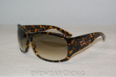 New Authentic Tortoise Sunglasses Frame Gucci GG 2592 02Y Angle-1 | Eyewearking.com