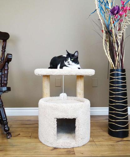 Premier 24-inch Cat Sleeper-Beige