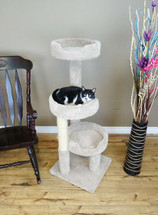 New Cat Condos Cat Climbing Tree for Large Cats in beige