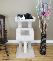 Premier Cat Climber Cat Tree in Beige