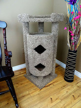 New Cat Condos Elevated Double Cat House