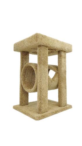 New Cat Condos Mini Cat Lounger-Brown