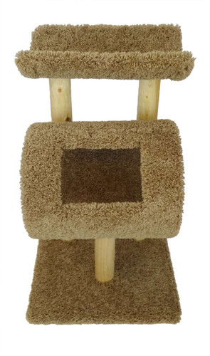 New Cat Condos Kitty Cat Tree-Brown