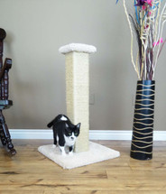 Large Cat Scratching Post-Beige