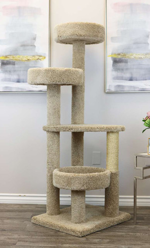 Large Cat Tower -Beige