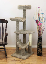 Multi level Large Cat Gym in Neutral Color
