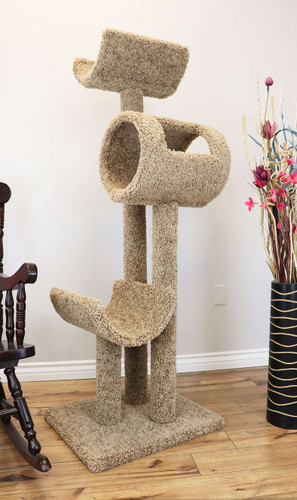 New Cat Condos Kitty Hotel-Brown