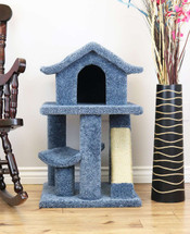 Premier Mini Cat Pagoda House-Blue