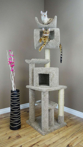 New Cat Condos 6 Foot Tall Playstation Cat Tower