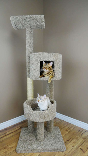 New Cat Condos Large Cat Perch and Playhouse