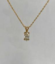 1.02ct Marquise Shaped Diamond Pendant