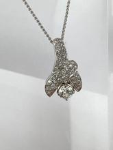 14 karat Round Diamond Fashion Pendant