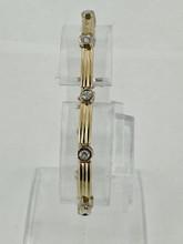 10 Round Diamonds Bracelet