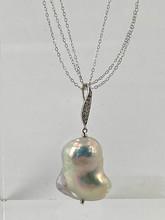 3 Strand Keshi Pearl Necklace