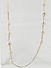 """32"""" Fresh Water Culture Pearl Necklace"""