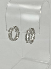 1.97ctw Baguettes and Diamonds Earrings