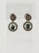0.66ct Green Onix Earrings