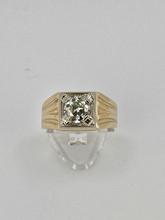 Gentlemen's 2.08ct Round Diamond Ring