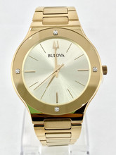 BULOVA Futuro Gold Tone Watch - Men's