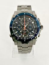 BULOVA Precisionist Grey Blue Dial Watch