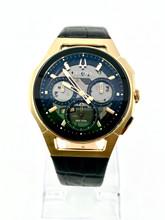 BULOVA Curv Gold-Tone Watch