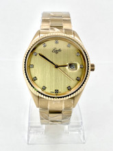 GUILLE Yellow/ Stainless Steel Watch
