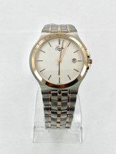 GUILLE Mens Stainless Steel Two-Tone Watch