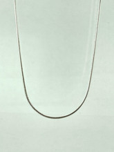 Sterling Silver Snake Chain 16 inch with extension
