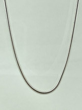 """Sterling Silver Snake Chain 16"""""""