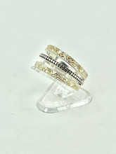 MICHOU Sterling Silver and 22KT Vermeil Ring