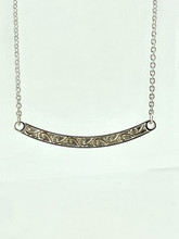 MICHOU Sterling Silver and 22KT Vermeil Necklace