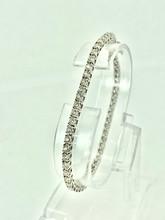 14 Karat White Gold 1.98ctw Tennis Bracelet