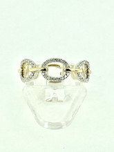 14 Karat Yellow Gold 0.16ctw Diamond Ring