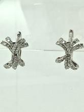14 Karat White Gold 0.52ctw Diamond Earrings
