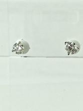 1.00ctw White Gold Round Diamond Studs