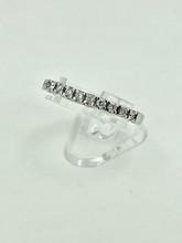 14 Karat White Gold 0.50ctw Spryng Diamond Ring