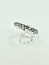14 Karat White Gold 1.50ctw Spryng Diamond Ring