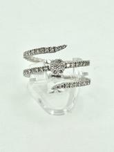 14 Karat White Gold  0.75ctw Spryng Diamond Ring