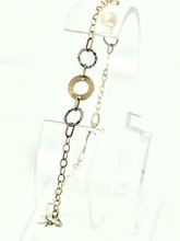 14 Karat Two-Tone Ladies Bracelet