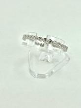 14 Karat White Gold 0.21ctw Eternity Diamond Ring