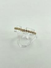 14 Karat Yellow Gold 0.21ctw Eternity Diamond Ring