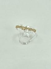 14 Karat Eternity Fashion Yellow Gold Ring with 0.21ctw Diamonds