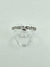 14 Karat White Gold Eternity Fashion Ring with 0.21ctw Round Diamonds