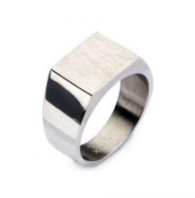 INOX Steel & Engravable Polished Ring