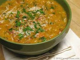 Tuscan White Bean with Spinach Soup