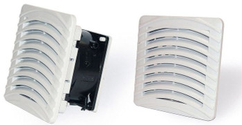 GHV1000210 : 4.7 inch (119mm) Enclosure Filter Fan 12 VDC Reversible Airflow
