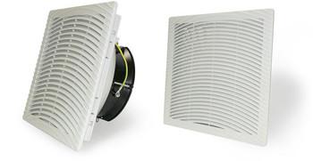 GHV20SL220 : 8 inch (204mm) Enclosure Slim Filter Fan 230V Reversible Airflow