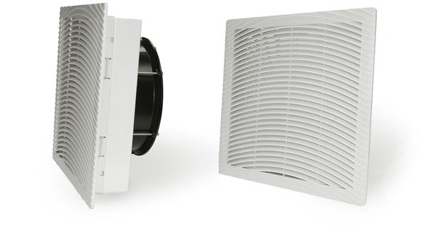 GHV2500211 : 10 inch (250mm) Enclosure Filter Fan 112cfm 24 VDC