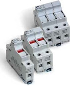 2540101 DIN Rail Class CC Fuse Holder 1 Pole 30A 600V cUL10x38 mm fuse