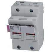 "2563000 : DIN Rail Fuse Holder 2-Pole, 50A, 600V, AC-22B, 9/16""x 2"" fuse, cUL, CSA"
